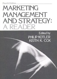 Marketing Management and Strategy (h�ftad)