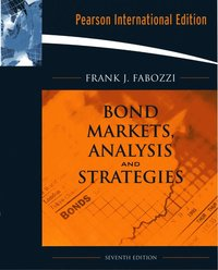 Bond Markets, Analysis, and Strategies (h�ftad)