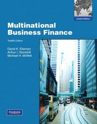 Multinational Business Finance (h�ftad)