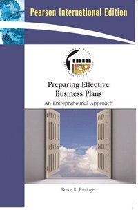 Preparing Effective Business Plans (e-bok)