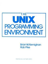 The UNIX Programming Environment (h�ftad)