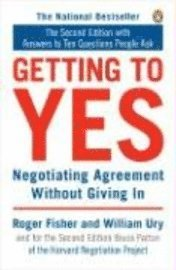 Getting to Yes: Negotiating Agreement Without Giving in (pocket)