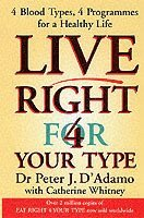 Live Right for Your Type (häftad)