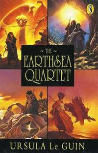 The Earthsea Quartet: 'A Wizard Of Earthsea'; 'The Tombs of Atuan'; 'The Farthest Shore'; 'Tehanu' (h�ftad)