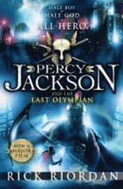 Percy Jackson and the Last Olympian (h�ftad)