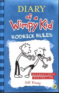 Diary of a Wimpy Kid - Rodrick Rules (kartonnage)