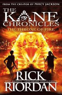 The Kane Chronicles: the Throne of Fire (h�ftad)