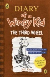 Diary Of A Wimpy Kid: The Third Wheel (h�ftad)