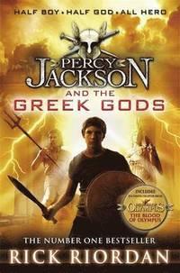 Percy Jackson and the Greek Gods (h�ftad)