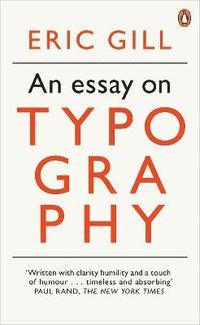 An Essay on Typography (h�ftad)
