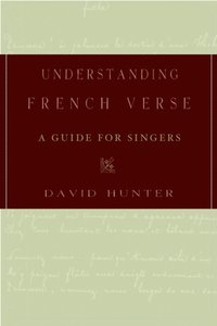 Understanding French Verse: A Guide for Singers  (inbunden)