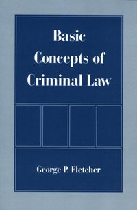 Basic Concepts of Criminal Law (e-bok)