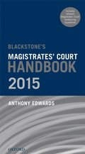 Blackstone's Magistrates' Court Handbook 2015