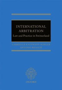 International Arbitration: Law and Practice in Switzerland (e-bok)