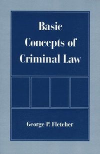 Basic Concepts of Criminal Law (inbunden)