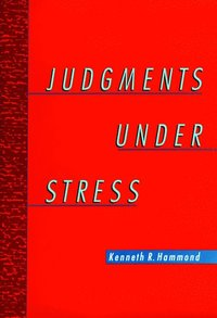 Judgments Under Stress (inbunden)