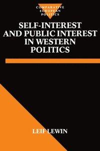 Self-Interest and Public Interest in Western Politics (h�ftad)