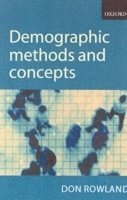 Demographic Methods and Concepts (h�ftad)