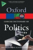 The Concise Oxford Dictionary of Politics (h�ftad)