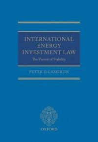 International Energy Investment Law (inbunden)