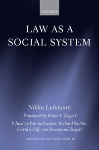 Law as a Social System (h�ftad)