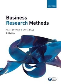 Business Research Methods 3e (h�ftad)