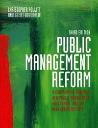 Public Management Reform (h�ftad)