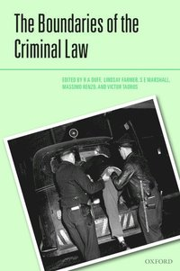 The Boundaries of the Criminal Law (inbunden)