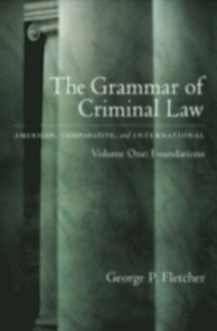 Grammar of Criminal Law (e-bok)
