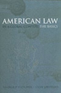 American Law in a Global Context The Basics (e-bok)