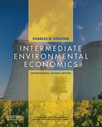 Intermediate Environmental Economics (h�ftad)