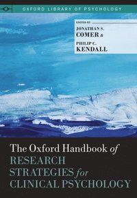 Oxford Handbook of Research Strategies for Clinical Psychology