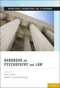 Handbook on Psychopathy and Law (inbunden)