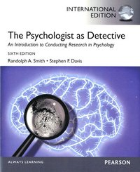 The Psychologist as Detective (h�ftad)