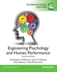Engineering Psychology & Human Performance (h�ftad)