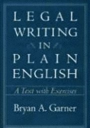 Legal Writing in Plain English (h�ftad)