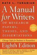 A Manual for Writers of Research Papers, Theses, and Dissertations (h�ftad)