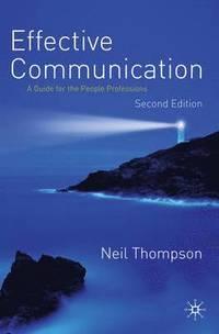 Effective Communication (h�ftad)
