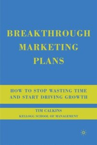 Breakthrough Marketing Plans (inbunden)