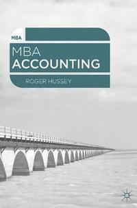 MBA Accounting (h�ftad)