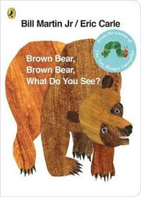Brown Bear, Brown Bear, What Do You See? (kartonnage)