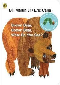 Brown Bear, Brown Bear, What Do You See? (kartonnage)