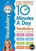 10 Minutes a Day Vocabulary: Ages 7-11