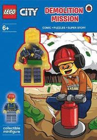 LEGO City: Demolition Mission Activity Book with Minifigure (h�ftad)