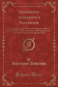 Sherwood Anderson's Notebook