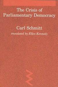 The Crisis of Parliamentary Democracy (h�ftad)
