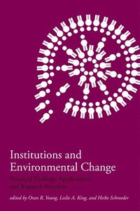 Institutions and Environmental Change (h�ftad)