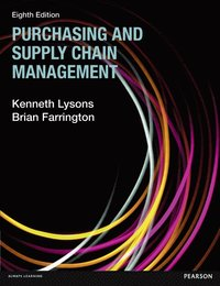 Purchasing and Supply Chain Management (h�ftad)