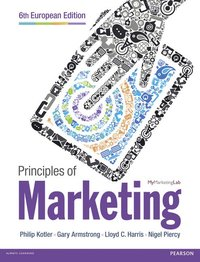 Principles of Marketing European Edition (h�ftad)