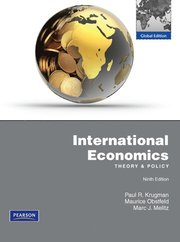 International Economics with MyEconLab